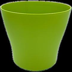 Горшок для цветов Gardenya 21 л зеленый