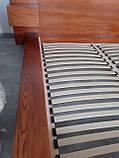 """Ексклюзив Двоспальне ліжко """"Етно"""" 180/200 масив у наявності, фото 2"""