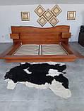 """Ексклюзив Двоспальне ліжко """"Етно"""" 180/200 масив у наявності, фото 3"""