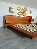 """Ексклюзив Двоспальне ліжко """"Етно"""" 180/200 масив у наявності, фото 4"""