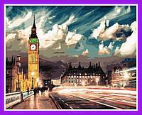 Картина по номерам Сумерки над Лондоном Расскраска по номерам