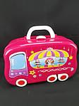 Увлекающий набор для макияжа детский с выдвижным чемоданчиком, фото 6