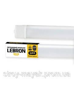 Светильник линейный светодиодный LEBRON L-Т8-LPP 36W, 1260 * 43 * 23ММ, 6200K, ІР65 дневной свет