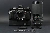 Minolta X-700 kit MD 50mm f2.0 + Vivitar 70-300mm f4.2-5.8 + teleconverter + Power Vinder, фото 1