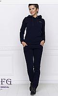 Утепленный женский спортивный костюм на зиму 50-54, фото 1
