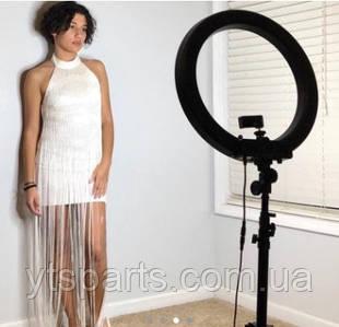 Профессиональная Кольцевая лампа 48см + Пульт +Штатив +2 Фильтра