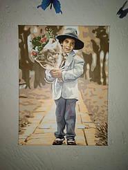 Молодой джентльмен 30х40см VK195 5