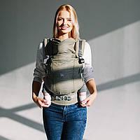 Эрг рюкзак для новорожденных ONE + Cool с сеточкой на спинке Love & Carry Рюкзак для переноски детей Секвоя