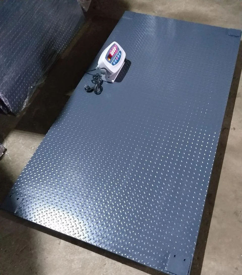 Ваги для зважування тварин VTP-G-1520 (1000 кг, 1500х2000 мм) без клітки