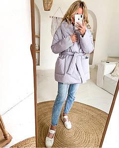 Жіноча куртка на синтепоні батал