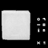 Пакет паперовий Куточок Білий 140*140, 100шт/уп 2000шт/ящ, фото 1