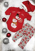 Крутий новорічний костюм - унісекс, 3-12 місяці
