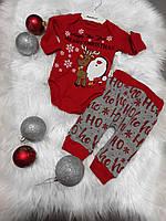 Крутий новорічний костюм - унісекс, 6-12 місяці