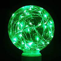 Світлодіодна лампа куля G95 Едісона Е27 зелена