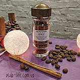 Коричный сахар с настоящей цейлонской Корицей. В стеклянной баночке-спецовнике. 35 грамм, фото 3