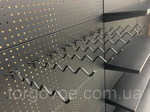 Навесные элементы для перфорированного торгового стеллажа WIKO  для магазина