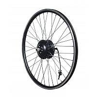 Запицованное мотор-колесо MXUS XF07F 48В 350Вт редукторное, переднее, фото 1