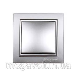 Выключатель Серебряный камень Enzo IP22