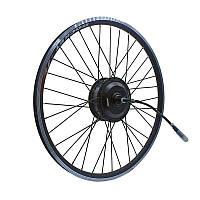 Заспицованное мотор-колесо MXUS ZWG XF08R 48В 350Вт редукторное, заднее, фото 1