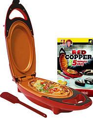 Инновационная электросковорода Red Copper 5 minuts chef PLUS