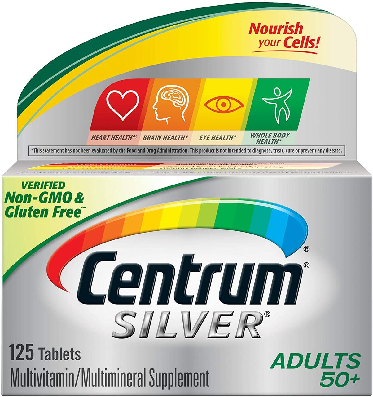 Мультивитамины Centrum Silver Adult (125 таблеток)  50+