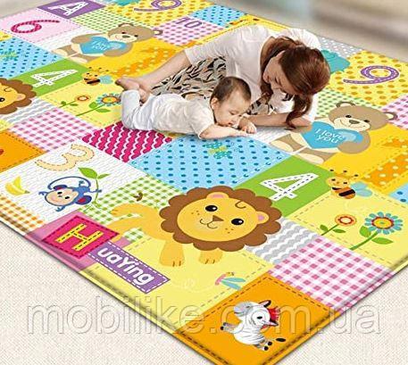 """Качественный игровой коврик для вашего Младенца""""Самолет"""" 90*150 см"""