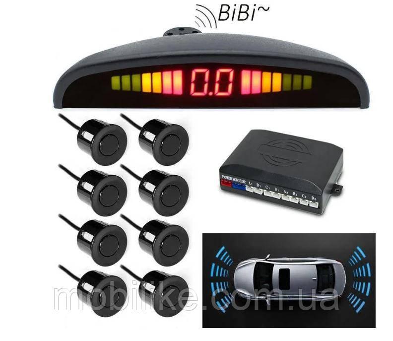 Автомобильный парктроник на 8 датчиков (для любого авто)