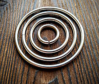 Кольцо для портупеи 3х20мм нержавеющее