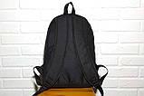 Молодіжний міський, спортивний рюкзак, портфель New Balance, нью бэланс. Чорний, фото 9
