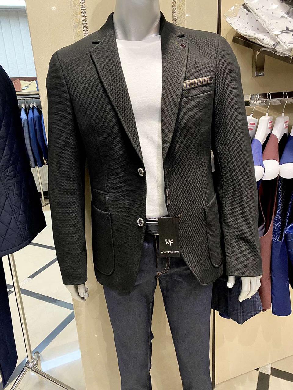 Пиджак мужской West-Fashion модель А 999А черный