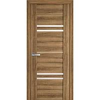 Двери межкомнатные Вива Мерида Новый Стиль ПВХ со стеклом сатин 60, 70, 80, 90