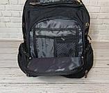 Місткий рюкзак SwissGear Wenger, свисгир. Чорний. 35L / s7655 black, фото 9