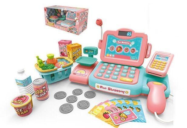 Кассовый детский аппарат 888 Е 24 предмета