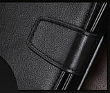 Стильний чоловічий шкіряний клатч, гаманець. Чорний. Baellerry Active. Балери, фото 5