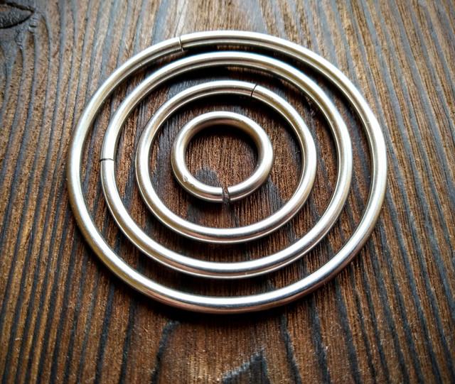 Кольцо, кольца, колечки для портупеи