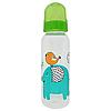 Бутылочка с соской (250 мл.)(зеленая)