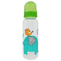 Бутылочка с соской (250 мл.)(зеленая), фото 1