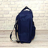 Комплект рюкзак, сумка + органайзер Fjallraven Kanken Classic, канкен класик. Темно-синий, dark blue, фото 5