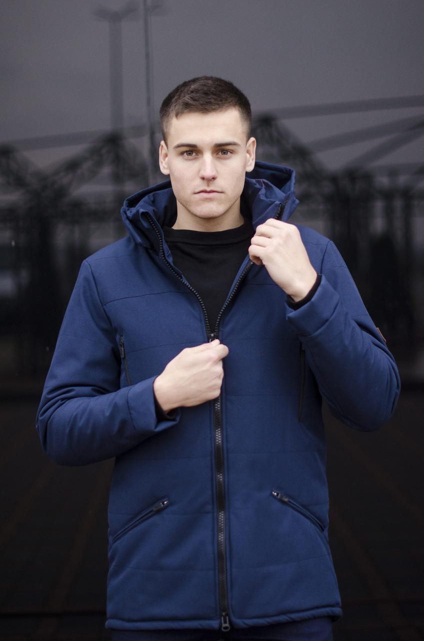 Куртка Парка зимняя мужская CS 1.6 Pobedov (синяя) L, 50