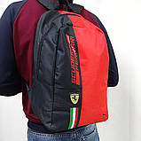 Спортивний, міський рюкзак Puma Scuderia Ferrari, пума. Феррарі. Червоний, фото 5