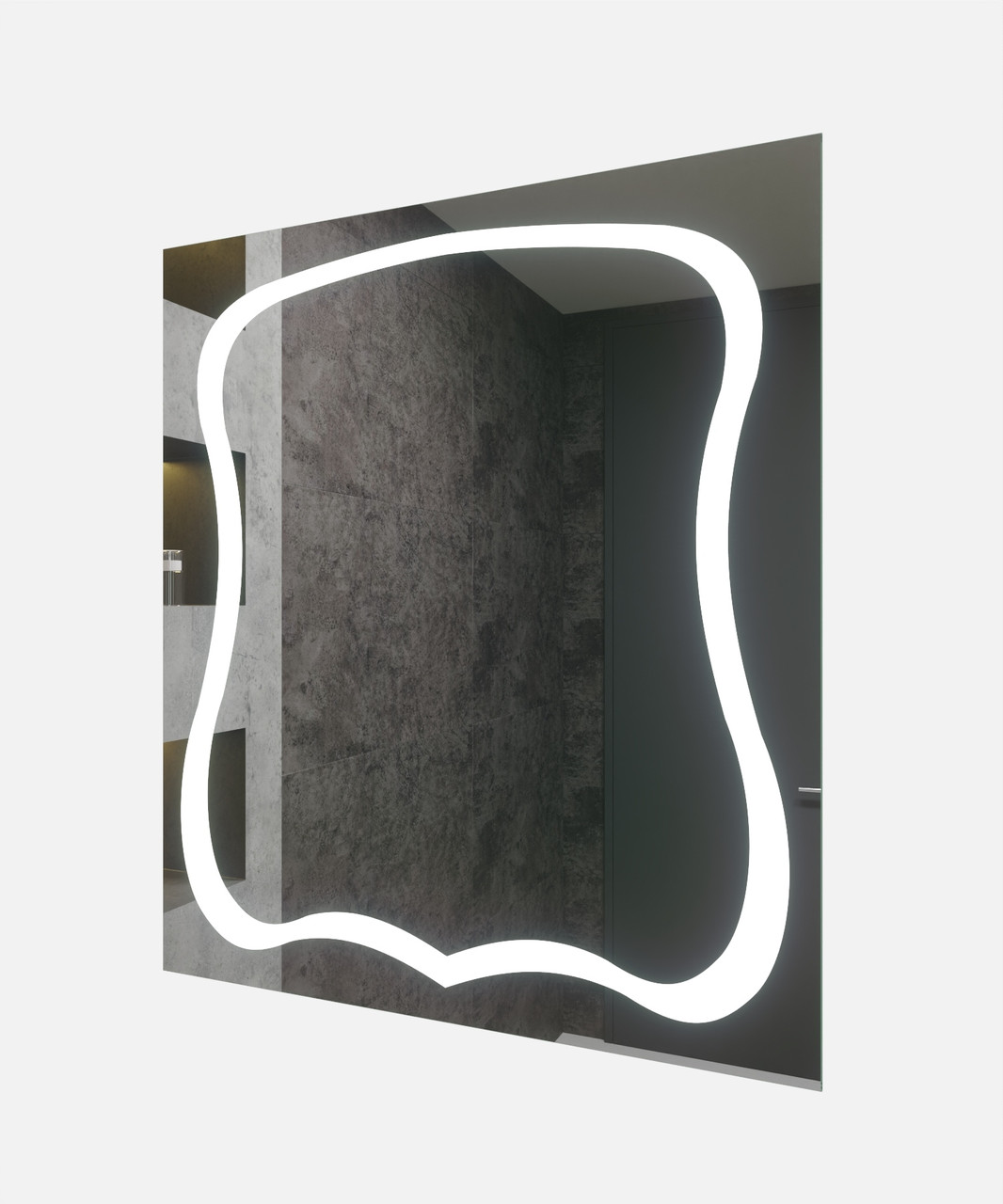Зеркало LED (70*80*2,5см) VZ-AL-D87