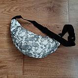Поясная сумка, Бананка, барсетка. Камуфляж, пиксель., фото 2