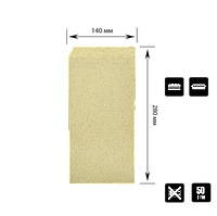 """Куточок КРАФТ паперовий """"Т"""", 280*140мм. Упаковка 100шт, 1000шт/ящ, фото 1"""