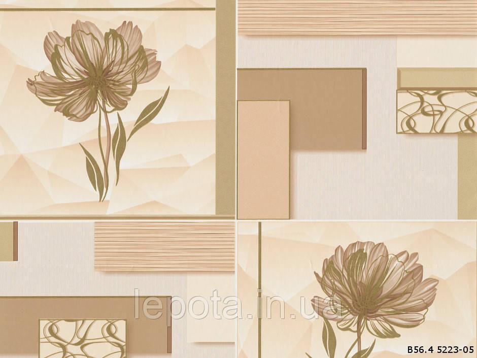 Обои бумажная мойка В56.4 Альба 5223-05