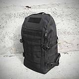 Чорний Тактичний, похідний рюкзак Military. 20 L., мілітарі, армійський. / T0453, фото 10