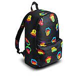 Крутой женский рюкзак с принтом Губы. Для учебы, путешествий, тренировок, фото 7