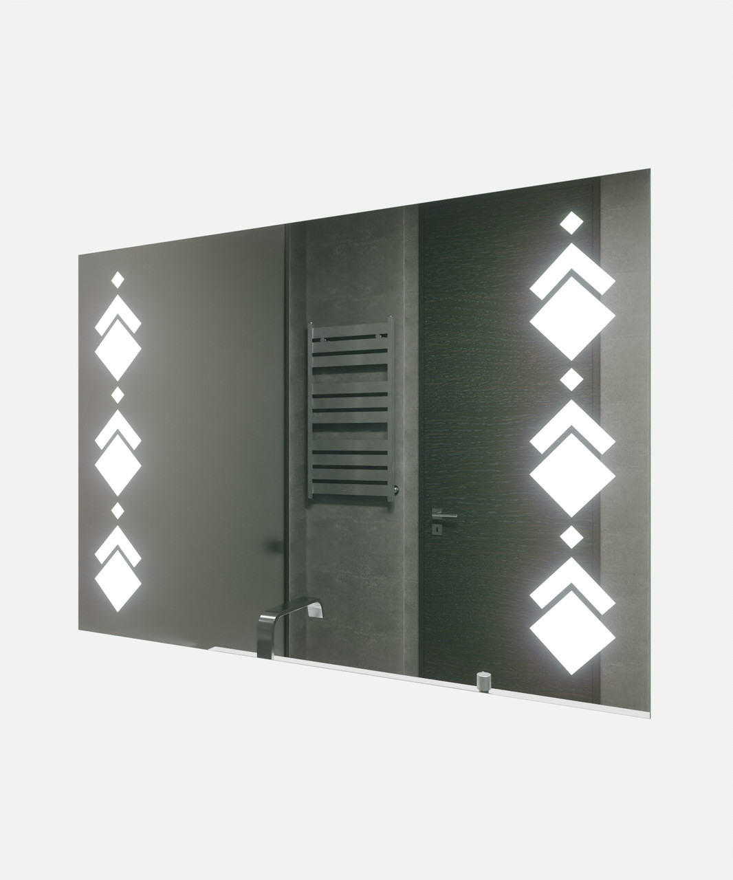 Зеркало LED (100*70*2,5см) VZ-AL-D82