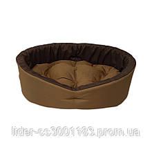 Лежак для собак и кошек. Койот + коричневый