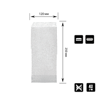 32 Уголок из белой бумаги (для панини,багета) 250х120мм (ВхШ) 40г/м² (500шт.), фото 1