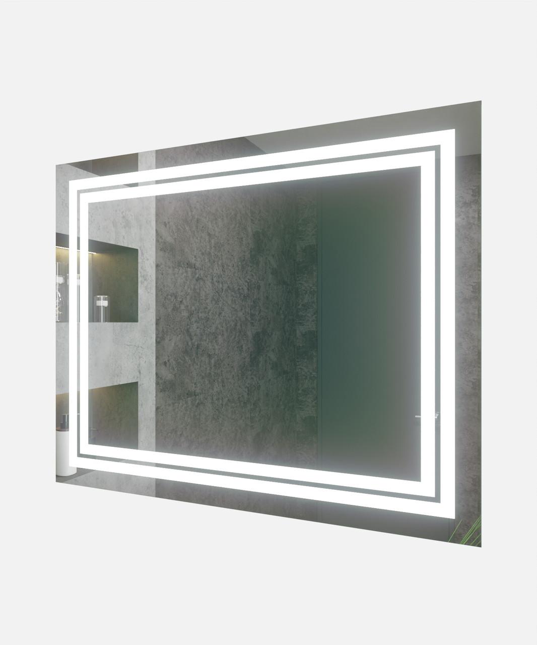 Зеркало LED (100*80*2,5см) VZ-AL-D81